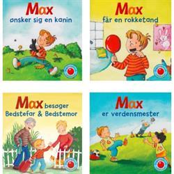 Mini børnebog om Max