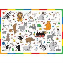 Dækkeserviet til børn med dyr, Girafprodukter